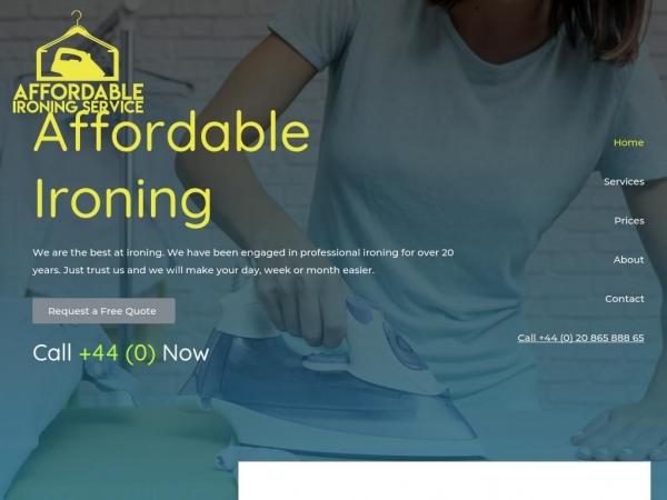 affordableironing.co.uk